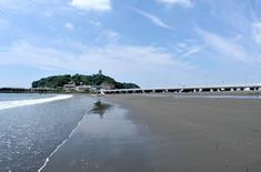 江の島花火大会203の穴場観覧スポット片瀬東浜