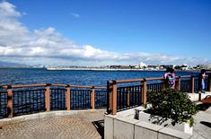 江の島花火大会203の穴場観覧スポット江の島島内の弁天橋