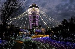 江の島シーキャンドルの湘南の宝石2014ライトアップ