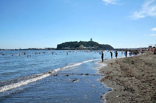 湘南江ノ島片瀬海岸東浜海水浴場