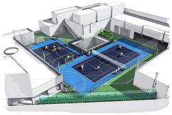 藤沢さいか屋屋上SUPER HIT テニススクール藤沢駅前校