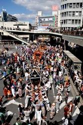 藤沢市民まつり2013の湘南神輿パレード