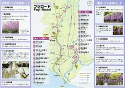 藤沢市の引地川フジ史跡ロードと境川フジ水辺ロード