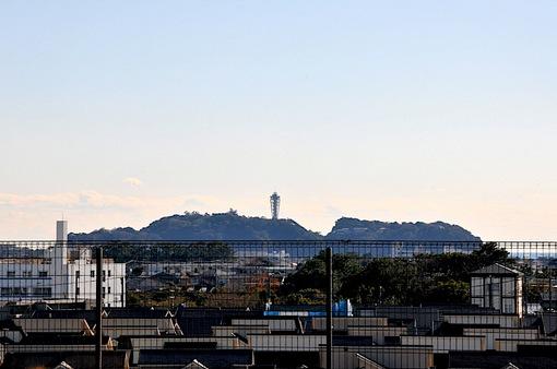 湘南モールフィルからの江ノ島
