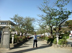 鎌倉のパワースポット段葛の路の幅