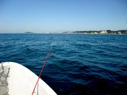 秋は材木座の手漕ぎボートでカワハギ釣り