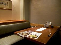 鎌倉のそば懐石峰本の個室