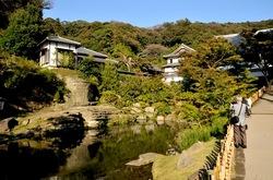 北鎌倉の紅葉散策円覚寺の妙香池