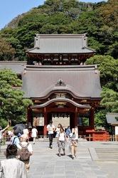 鎌倉鶴岡八幡宮の隠れミッキー的撮影スポット