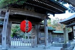 鎌倉紅葉散策2013長谷寺の山門