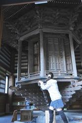 鎌倉長谷寺のパワースポット輪蔵(まわり堂)