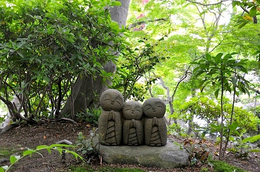 鎌倉新緑チェック2014長谷の長谷寺の良縁地蔵