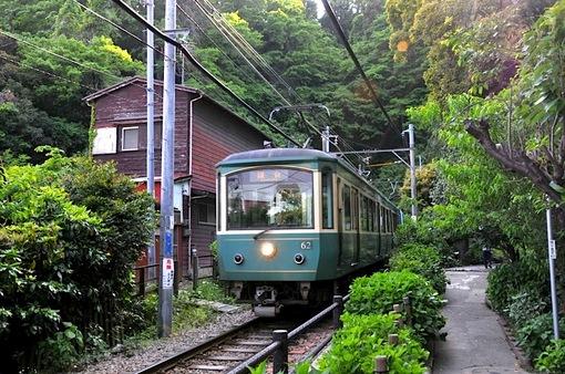 鎌倉新緑チェック2014長谷極楽寺の御霊神社と江ノ電