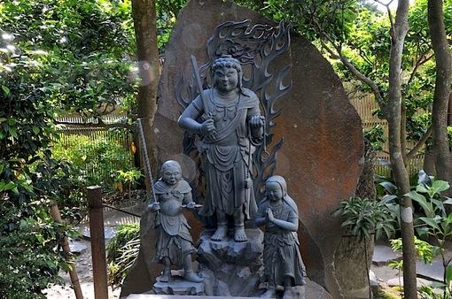 鎌倉新緑チェック2014極楽寺の成就院の不動明王像