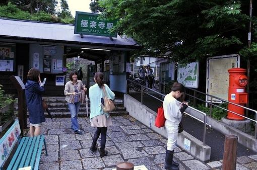 鎌倉紫陽花(あじさい)チェック2014極楽寺駅