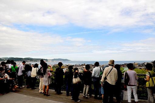 鎌倉紫陽花(あじさい)チェック2014長谷寺からの海