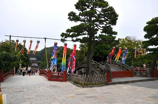 鎌倉鶴岡八幡宮の七夕祭り2014太鼓橋