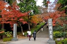 鎌倉紅葉スポット2014:人気の北鎌倉・長谷周辺コース円覚寺