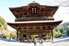 鎌倉紅葉スポット2014:人気の北鎌倉・長谷周辺コース建長寺