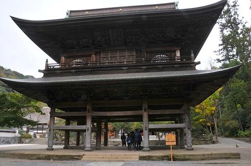 北鎌倉円覚寺の紅葉2014山門