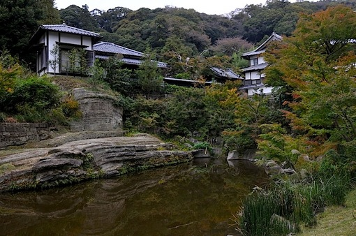 北鎌倉円覚寺の紅葉2014妙香池