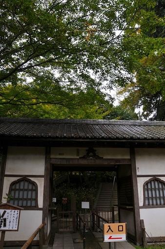 北鎌倉紅葉散策チェック2014明月院の総門
