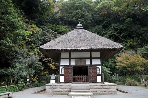北鎌倉紅葉散策チェック2014明月院の開山堂