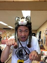 湘南から沖縄八重山旅行イリオモテヤマネコの帽子