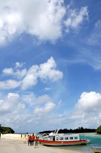 湘南から沖縄八重山旅行石垣島の川平湾