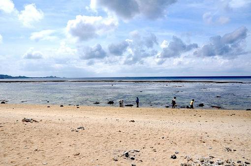 湘南から沖縄八重山旅行石垣島の米原ビーチ