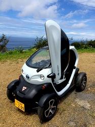 湘南藤沢から五島列島へ久賀島の小型電動自転車