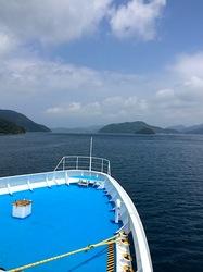 湘南藤沢から五島列島へ宇久島の太古フェリー