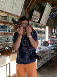 湘南藤沢から五島列島へ宇久島の浜方ふれあい館海士(あまんし)の漁具