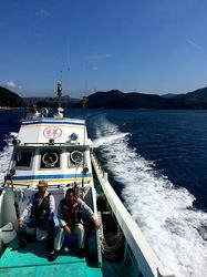 湘南藤沢から五島列島へ若松島の渡し船