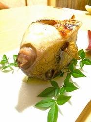 五島列島のグルメ情報海鮮系は福江島心誠のハコフグの味噌焼きかっとっぽ