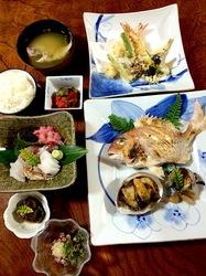五島列島のグルメ情報海鮮系は久賀島深浦荘の夕食