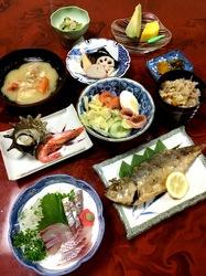 五島列島のグルメ情報海鮮系は若松島清水荘の夕食