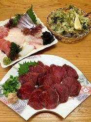 五島列島のグルメ情報ご当地グルメ&珍味は上五島浦桑海舟の猪刺身