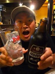 善行駅東口居酒屋「かうちん」のホッピー