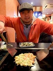 藤沢市善行のお好み焼き&鉄板焼き花味