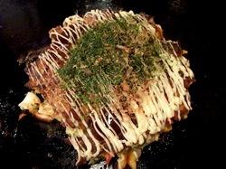 藤沢市善行のお好み焼き&鉄板焼き花味のミックス天