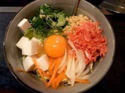 藤沢市善行のお好み焼き&鉄板焼き花味のダシで食べるお好み焼き