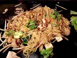藤沢市善行のお好み焼き&鉄板焼き花味の五目焼きそば