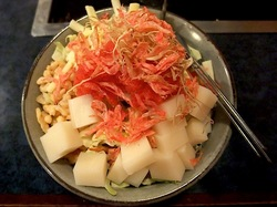 藤沢市善行のお好み焼き&鉄板焼き花味のもんじゃ焼き