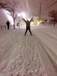 藤沢市善行の大雪